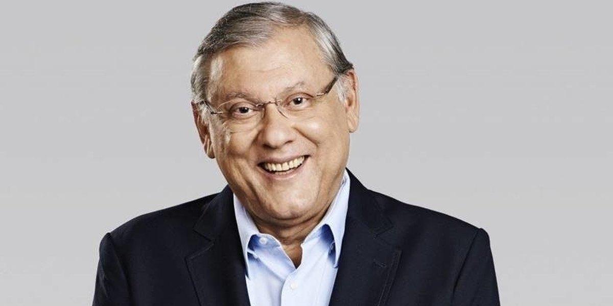 O apresentador Milton Neves (Reprodução)