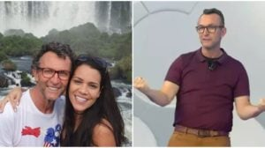 Neto e a esposa, Sandra Nicolau (Reprodução)