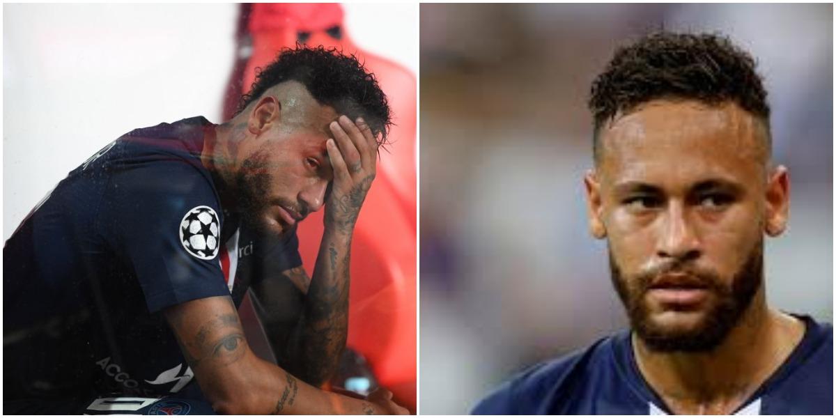 Neymar em mais uma polêmica no futebol - Foto: Montagem