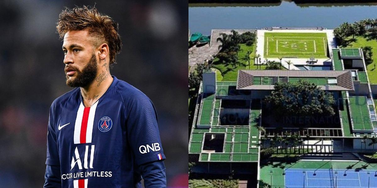 Neymar constrói boate subterrânea (Foto: Reprodução)
