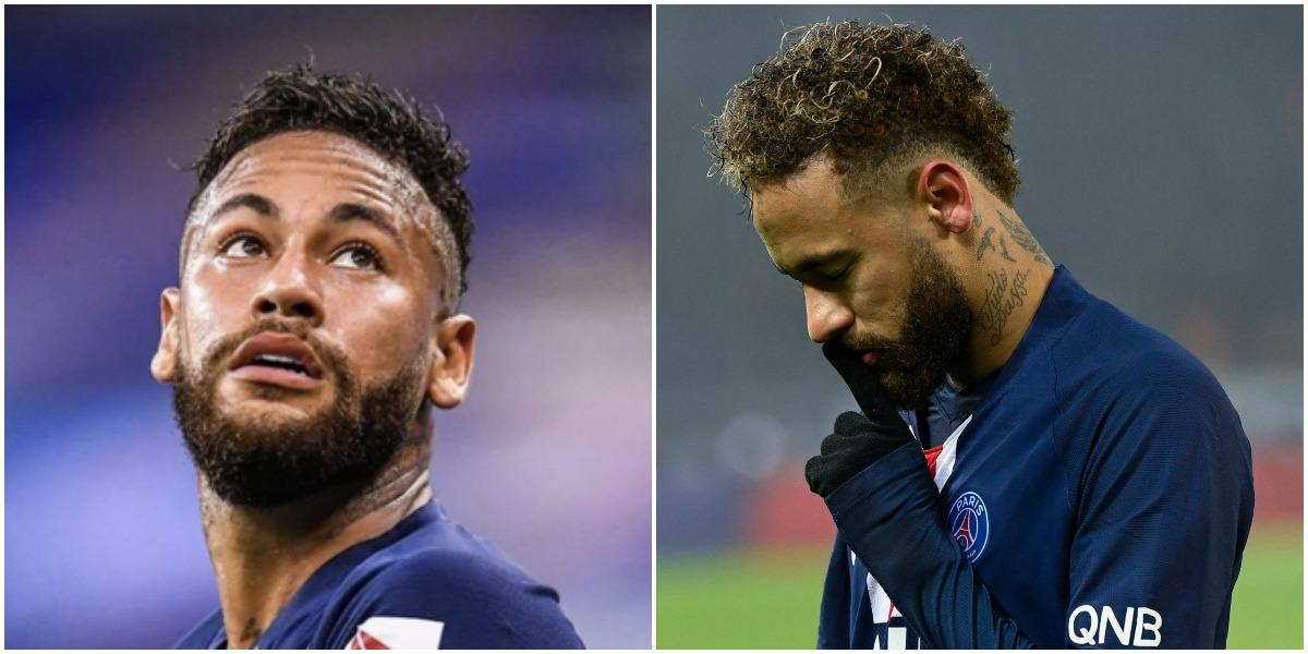 Neymar firmou contrato com a Puma e exibiu carta - Foto: Montagem