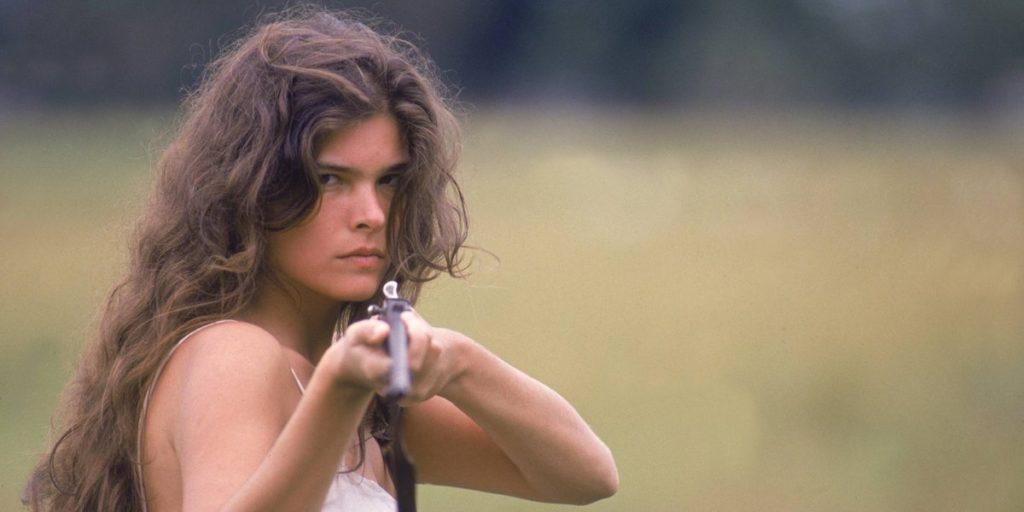 Cristiana Oliveira em cena de Pantanal. (Foto: Divulgação)