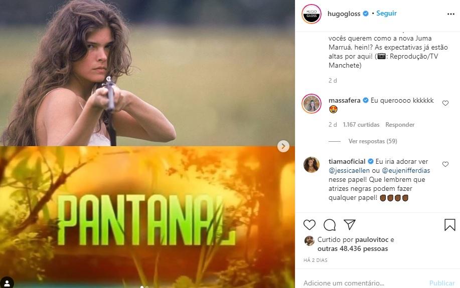 pantanal-grazi-massafera-remake