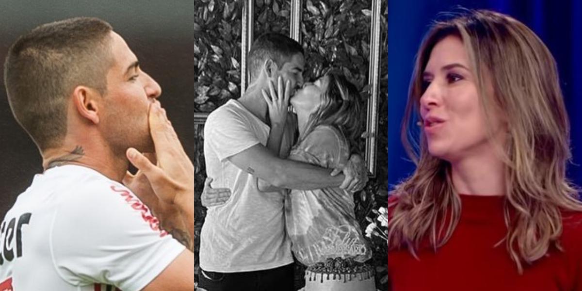 Pato e Rebeca Abravanel estão casados há mais de 1 ano (Foto: Reprodução/Instagram/SBT)