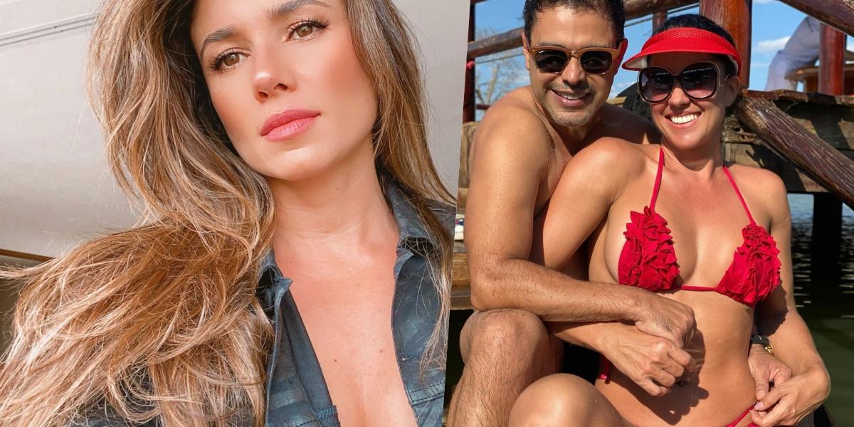 Paula Fernandes recebeu um recado de Graciele Lacerda (Foto: reprodução/Instagram)