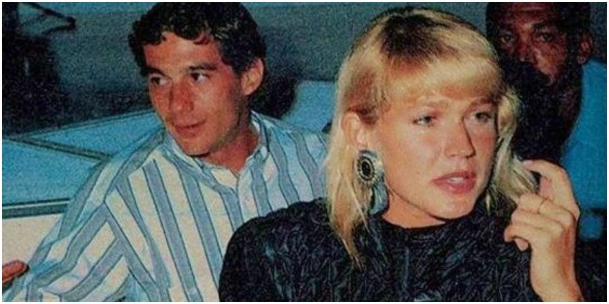Xuxa e Ayrton Senna (Foto: Reprodução)
