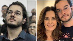 Fátima Bernardes e Túlio Gadêlha (Foto: Reprodução)