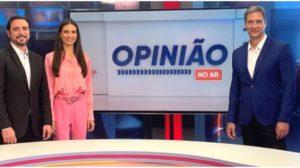 Luís Ernesto Lacombe estreia novo programa (Foto: Reprodução)
