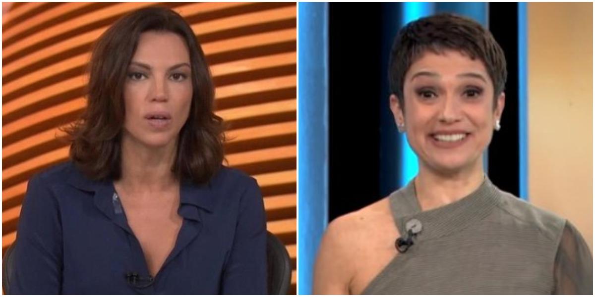 Ana Paula Araújo e Sandra Annenberg são grandes amigas (Foto: Reprodução/ Montagem/ TV Foco)