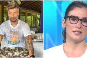 Bruno Gagliasso contou que tem 'crush' em Renata Vasconcellos (Foto: Reprodução/ Montagem/ TV Foco)