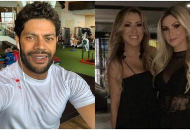 Hulk namora atualmente Camila, sobrinha de sua ex-mulher, Iran Angelo (Foto: Reprodução/ Montagem/ TV Foco)