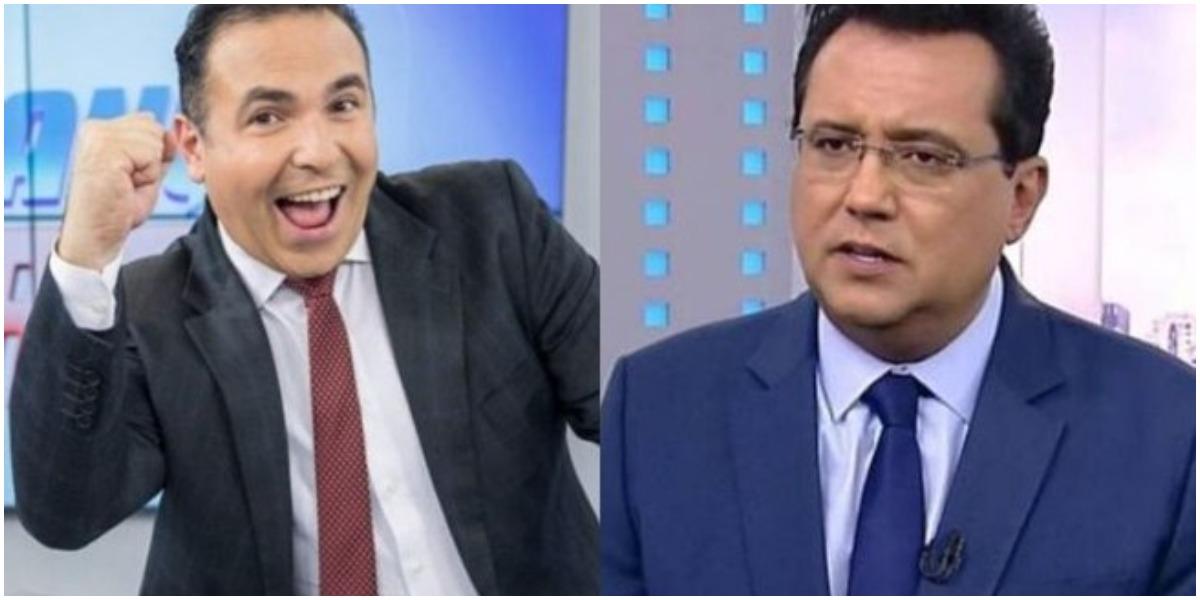 Reinaldo Gottino negou que tenha brigado com Geraldo Luís (Foto: Reprodução/ Montagem/ TV Foco)