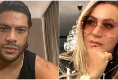 Hulk Paraíba resolveu falar sobre o fim de seu casamento com Iran Angelo (Foto: Reprodução/ Montagem/ TV Foco)