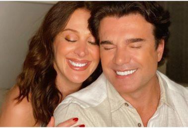 Claudia Raia e o marido, Jarbas Homem de Mello, querem ter um filho juntos (Foto: Reprodução)