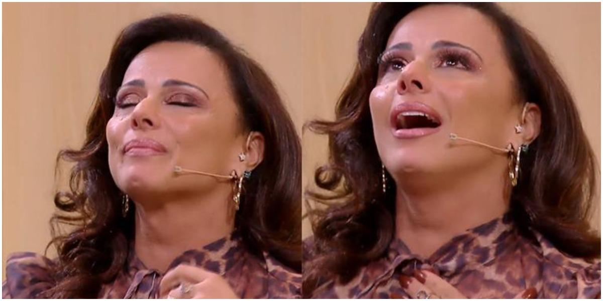 Viviane Araújo está devastada com a morte de sua prima (Foto: Reprodução)