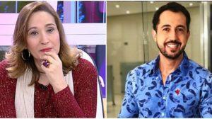 Sônia Abrão e Thiago Rocha trabalham juntos no A Tarde é Sua (Foto: Reprodução/ Montagem/ TV Foco)
