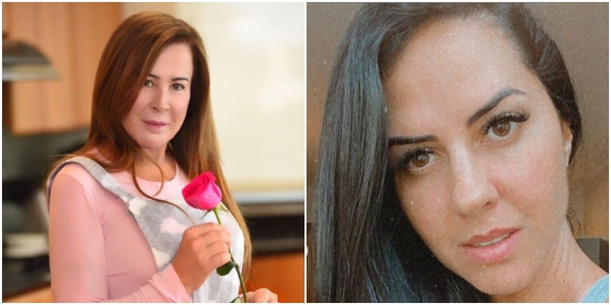 Graciele Lacerda e Zilu Godói (Foto: Reprodução)