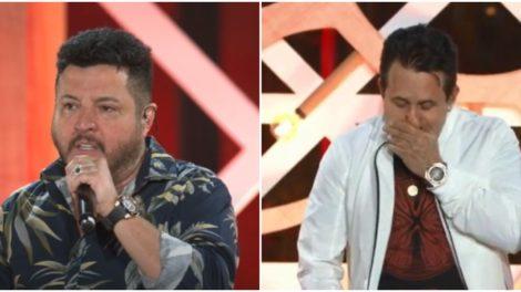 Bruno e Marrone surgiram estranhos (Foto: Reprodução)