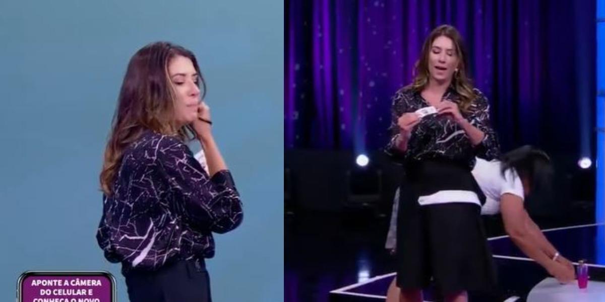 """Rebeca Abravanel no """"Roda a Roda Jequiti"""" (Foto: Reprodução/SBT)"""