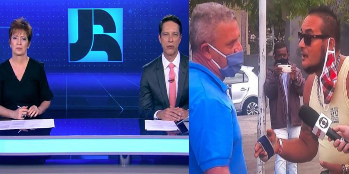 Record ignora esquema de Crivella exposto pela Globo (Foto: Reprodução/Montagem)