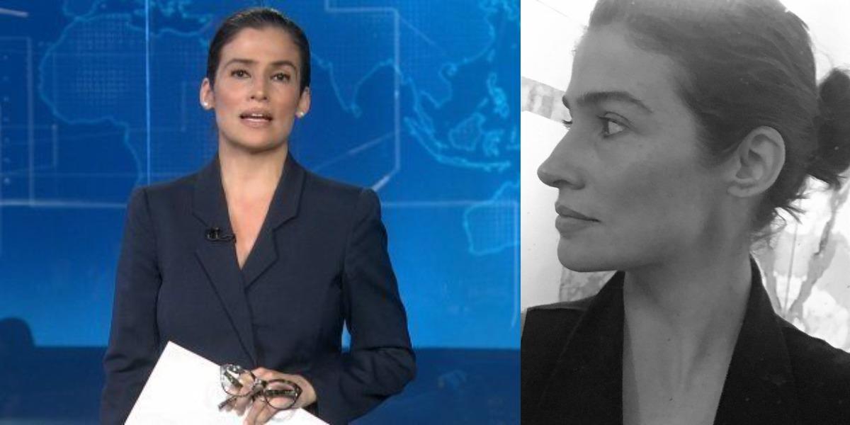 """Renata Vasconcellos é âncora do """"Jornal Nacional"""" (Foto: Reprodução/TV Globo/Instagram)"""