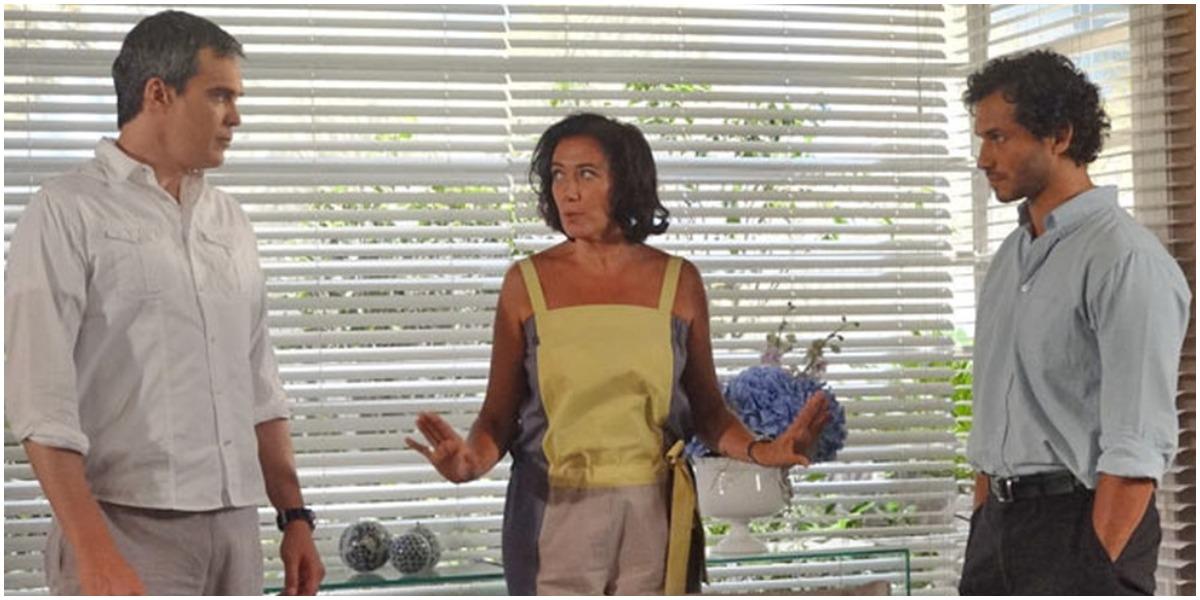 René e Griselda serão flagrados em Fina Estampa - Foto: Reprodução