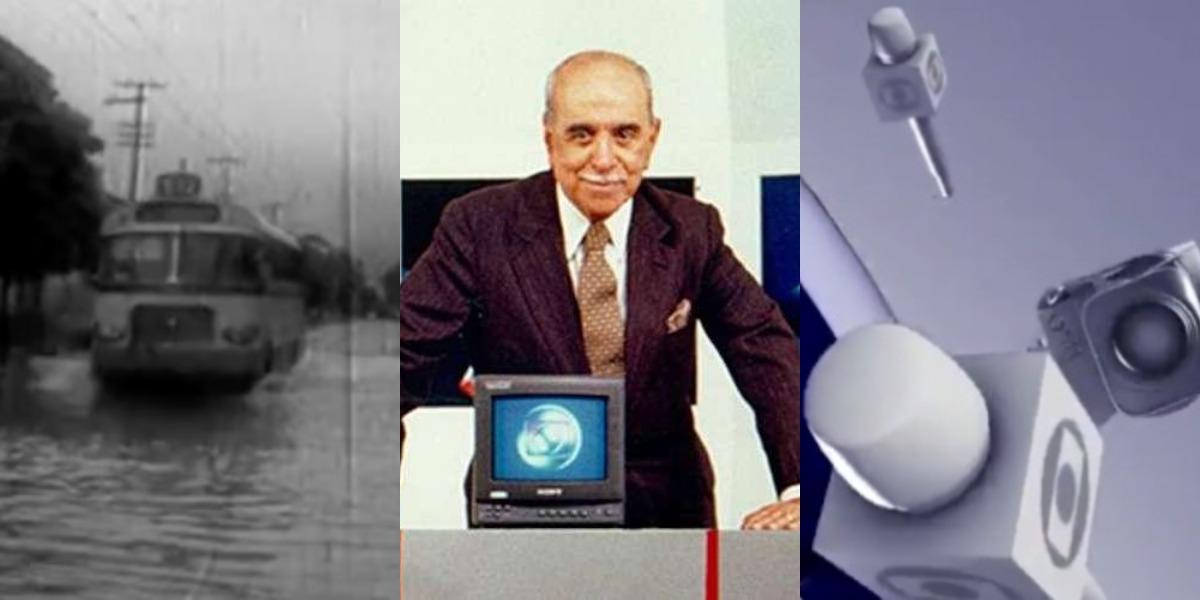 Roberto Marinho é o criador da TV Globo (Foto: Reprodução)