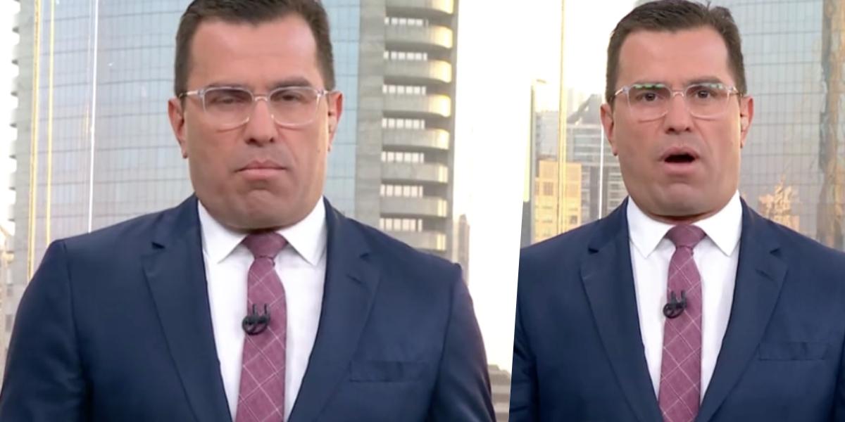 Rodrigo Bocardi comanda o 'Bom Dia São Paulo' (Foto: reprodução/Globo)