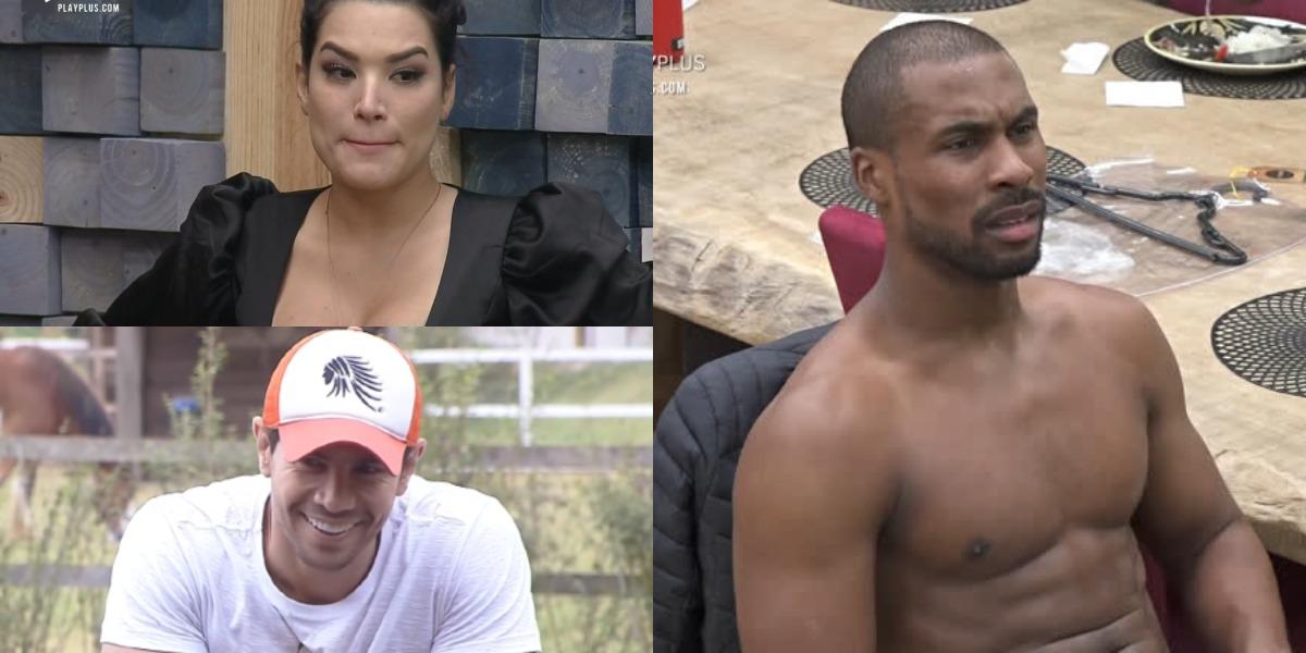 Rodrigo Moraes aposta na eliminação de Raíssa Barbosa (Foto: Reprodução)