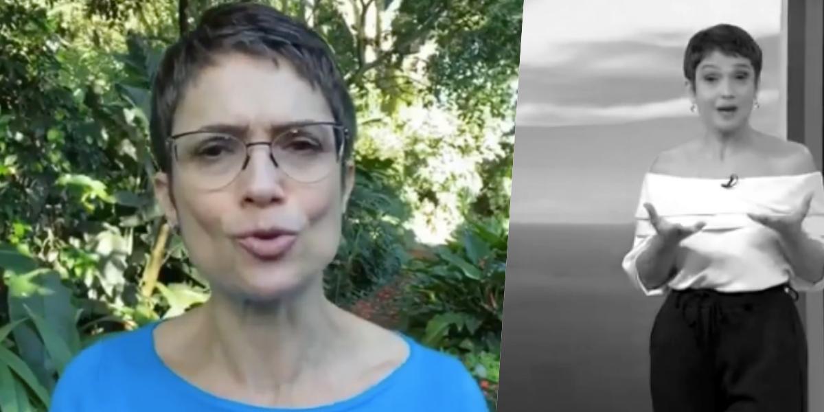 Sandra Annenberg ainda é contratada da Globo (Foto: reprodução)