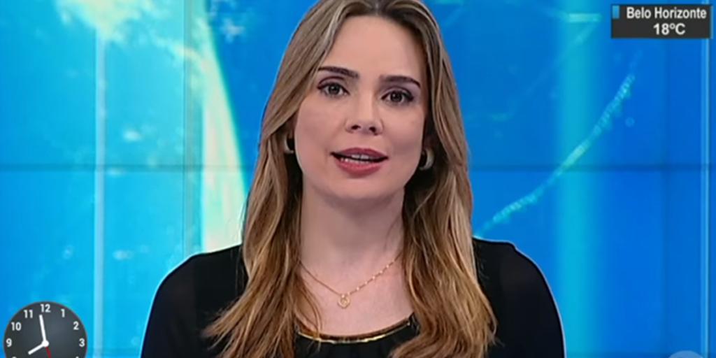 Rachel Sheherazade no SBT Brasil; apresentadora foi dispensada e não volta mais à emissora (Foto: Reprodução/SBT)
