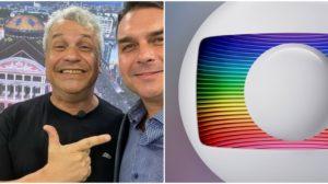 O apresentador Sikêra Jr quebrou o silêncio sobre a Globo - Foto: Montagem