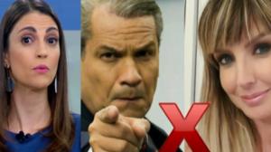 Chris Flores repercute declaração de Sikêra Jr. sobre Alessandra Scatena (Foto: Montagem)