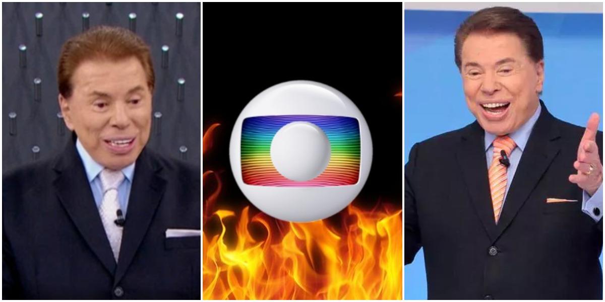 Silvio Santos virou calo no pé da Globo (Reprodução)