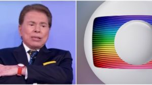 Silvio Santos quer bater de vez com a Globo - Foto: Montagem