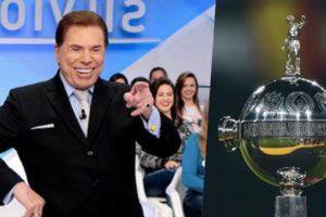 Silvio Santos comemorou a compra dos direitos da Libertadores (Foto: reprodução)