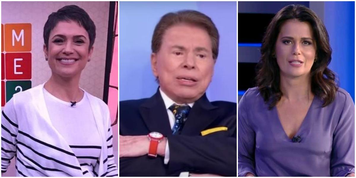 Silvio Santos quer Sandra Annenberg e Adriana Araújo no SBT - Foto: Reprodução