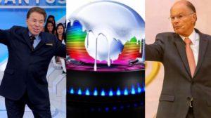 Silvio Santos e Edir Macedo já venceram a Globo (Foto: Reprodução/SBT/Record)