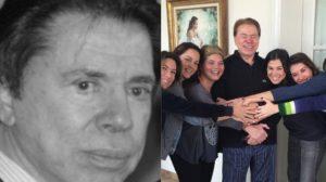 Silvio Santos e suas filhas (Foto: Reprodução/Instagram)