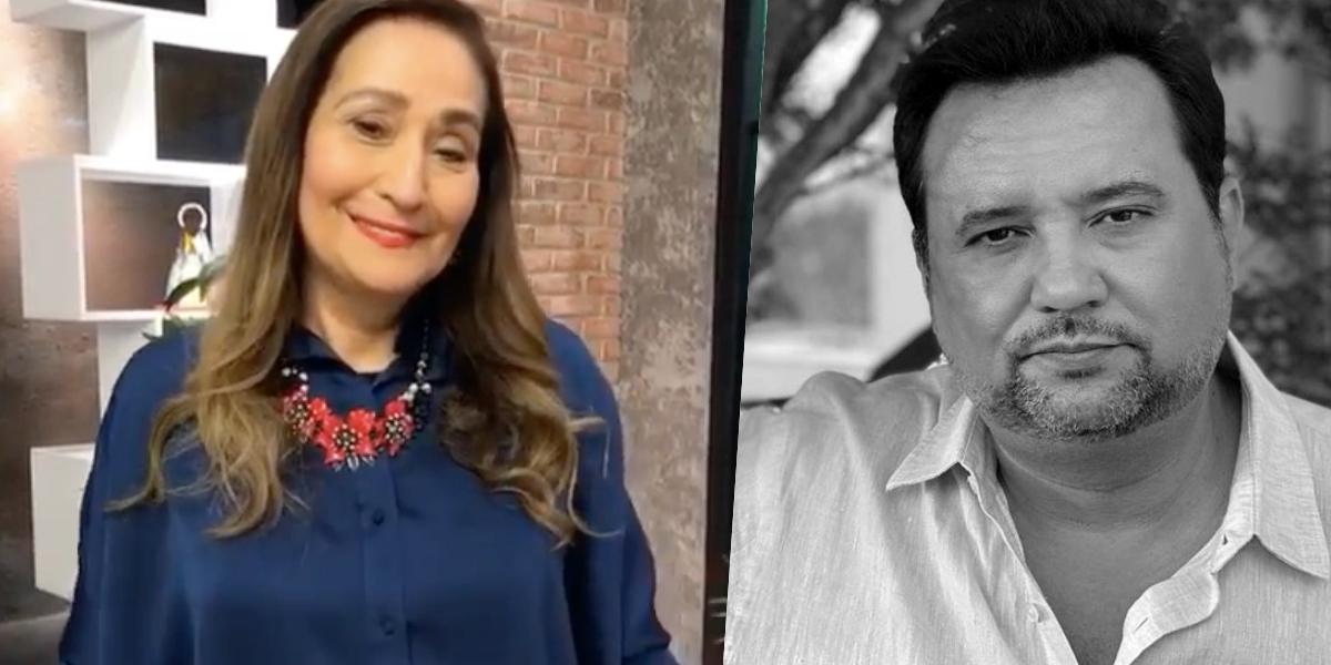 Sonia Abrão comemorou o destino de Geraldo Luís (Foto: reprodução)