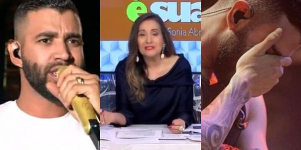 Sonia Abrão detonou Gusttavo Lima (Foto: Reprodução/Instagram/YouTube/RedeTV!)