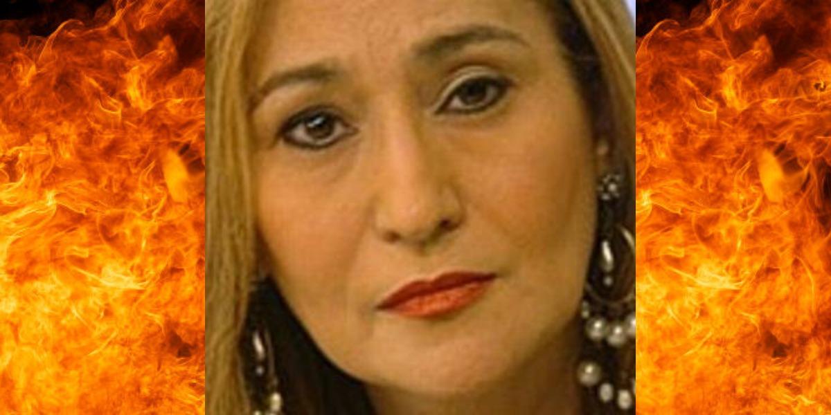 Sonia Abrão provou a verdade em seu programa (Foto: Reprodução/RedeTV!)