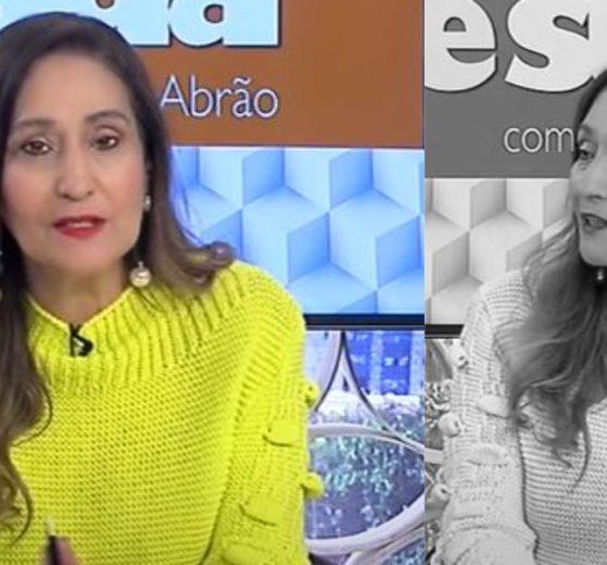 """Sonia Abrão no """"A Tarde é Sua"""" de ontem (Foto: Reprodução/RedeTV!)"""