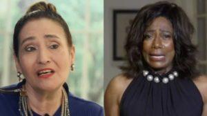 Sonia Abrão criticou Glória Maria em seu programa (Foto: Reprodução/Uol/TV Globo)