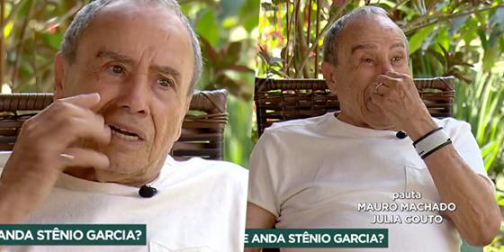 O ator Stênio Garcia desabafou na Record - Foto: Montagem