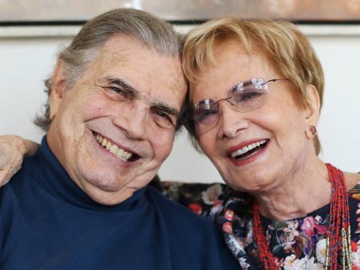 Tarcísio Meira e Glória Menezes foram desligados da Globo (Foto: reprodução)
