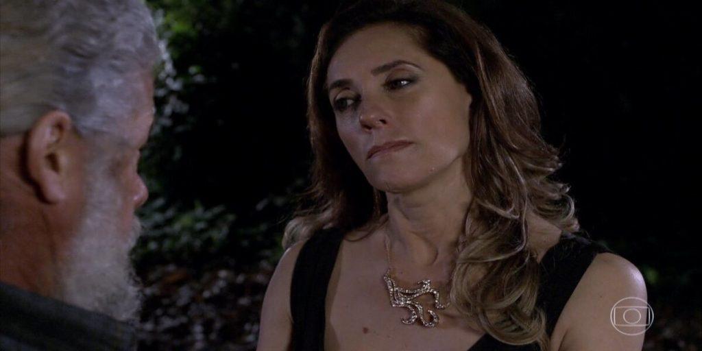 Tereza Cristina engana na cara dura Pereirinha em Fina Estampa
