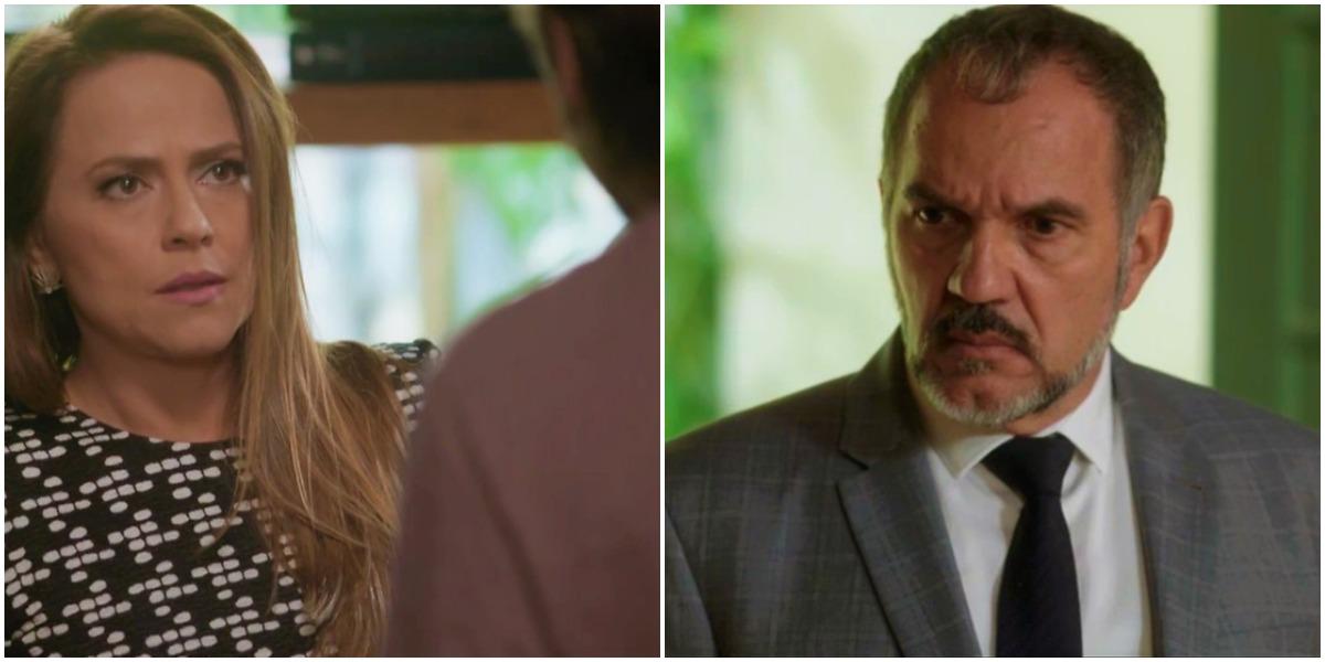 Lili e Germano em cena da novela Totalmente Demais - Foto: Reprodução