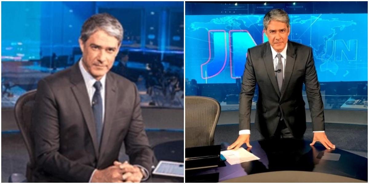 O apresentador da Globo, William Bonner (Reprodução)
