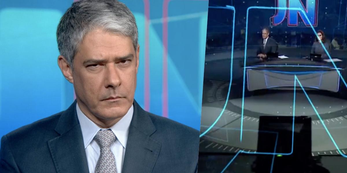 William Bonner chocou os brasileiros com uma bomba (Foto: reprodução/Globo)